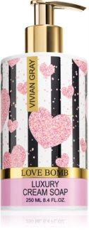 Vivian Gray Love Bomb sapone liquido in crema