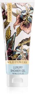 Vivian Gray Wild Flowers doccia gel di lusso