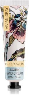 Vivian Gray Wild Flowers crème de luxe mains