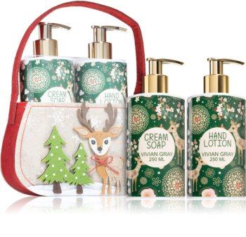 Vivian Gray Golden Christmas Gift Set For Women
