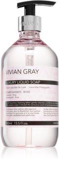 Vivian Gray Modern Pastel Pomegranate & Rose savon liquide de luxe