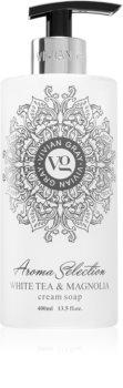 Vivian Gray Aroma Selection White Tea & Magnolia krémové tekuté mýdlo