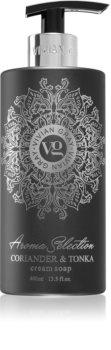 Vivian Gray Aroma Selection Coriander & Tonka savon liquide crème