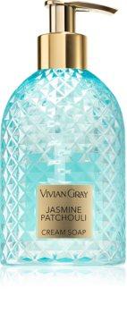 Vivian Gray Jasmine Patchouli krémes szappan kézre