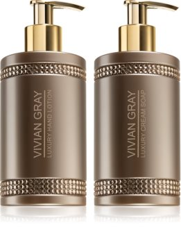Vivian Gray Brown Crystals Cosmetic Set XII. for Women