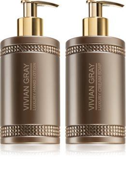 Vivian Gray Brown Crystals kit di cosmetici XII. da donna