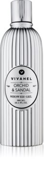 Vivian Gray Vivanel Orchid & Sandal Shower Gel