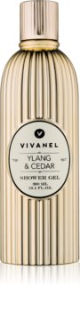 Vivian Gray Vivanel Ylang & Cedar gel doccia