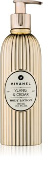 Vivian Gray Vivanel Ylang & Cedar тоалетно мляко за тяло