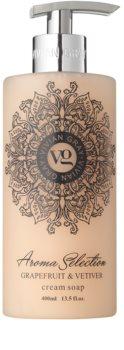 Vivian Gray Aroma Selection Grapefruit & Vetiver sabão liquido cremoso