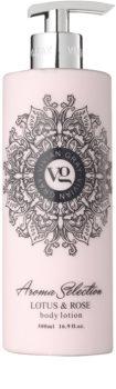 Vivian Gray Aroma Selection Lotus & Rose leite corporal