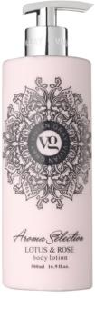 Vivian Gray Aroma Selection Lotus & Rose tělové mléko