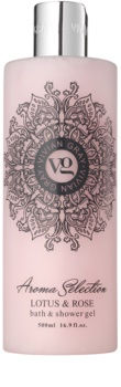 Vivian Gray Aroma Selection Lotus & Rose Гел за душ и вана