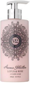 Vivian Gray Aroma Selection Lotus & Rose krémes folyékony szappan