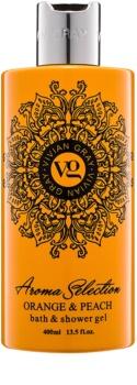 Vivian Gray Aroma Selection Orange & Peach gel de duche e banho