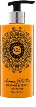 Vivian Gray Aroma Selection Orange & Peach krémes folyékony szappan