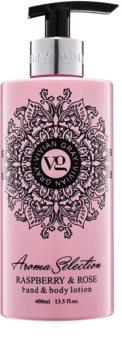 Vivian Gray Aroma Selection Raspberry & Rose Hand - und Bodylotion