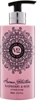 Vivian Gray Aroma Selection Raspberry & Rose savon liquide crème