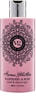 Vivian Gray Aroma Selection Raspberry & Rose gel de dus si baie