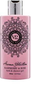 Vivian Gray Aroma Selection Raspberry & Rose Shower And Bath Gel