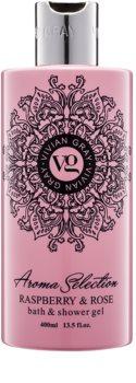 Vivian Gray Aroma Selection Raspberry & Rose Suihku- Ja Kylpygeeli