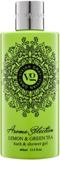 Vivian Gray Aroma Selection Lemon & Green Tea gel de duche e banho