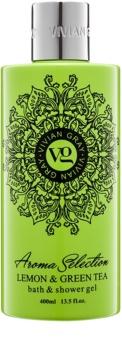 Vivian Gray Aroma Selection Lemon & Green Tea sprchový a kúpeľový gél