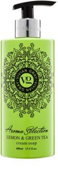 Vivian Gray Aroma Selection Lemon & Green Tea sapone liquido in crema