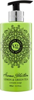 Vivian Gray Aroma Selection Lemon & Green Tea savon liquide crème