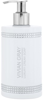 Vivian Gray Crystals White cremige Seife