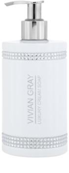 Vivian Gray Crystals White krémes szappan