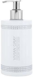 Vivian Gray Crystals White sapone in crema