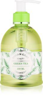 Vivian Gray Naturals Green Tea Nestemäinen Saippuavoide