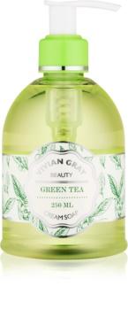 Vivian Gray Naturals Green Tea savon liquide crème
