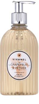 Vivian Gray Vivanel Grapefruit&Vetiver sapone liquido in crema
