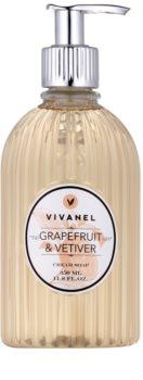 Vivian Gray Vivanel Grapefruit&Vetiver кремообразен течен сапун