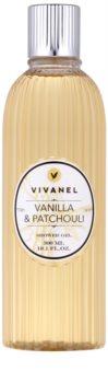 Vivian Gray Vivanel Vanilla&Patchouli krémes tusoló gél