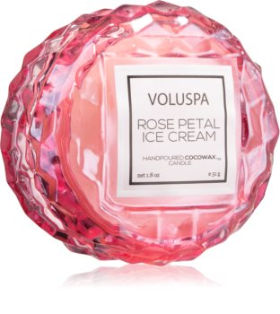 VOLUSPA Roses Rose Petal Ice Cream vela perfumada II.