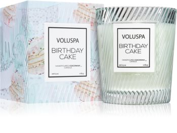 Admirable Voluspa Macaron Birthday Cake Scented Candle Notino Co Uk Funny Birthday Cards Online Elaedamsfinfo