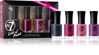 W7 Cosmetics Lick Of Paint комплект лак за нокти