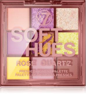 W7 Cosmetics Soft Hues палитра от сенки за очи