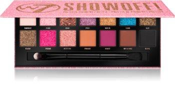 W7 Cosmetics Showoff! paletka očních stínů