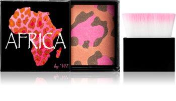 W7 Cosmetics Africa bronzující tvářenka se štětečkem