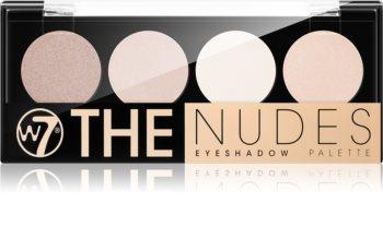 W7 Cosmetics The Nudes Lidschatten-Palette