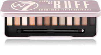 W7 Cosmetics Colour Me In the Buff palette de fards à paupières