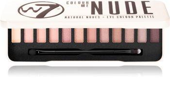 W7 Cosmetics Colour Me In The Nude paleta senčil za oči