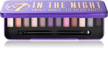 W7 Cosmetics In the Night paleta de sombras de ojos