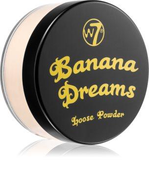 W7 Cosmetics Banana Dreams matující sypký pudr