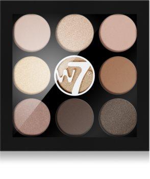 W7 Cosmetics Naughty Nine paletka očních stínů