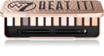 W7 Cosmetics Beat It палитра сенки за очи